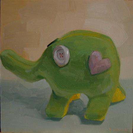plush painting